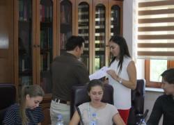 Студенти од Самара во посета на УГД